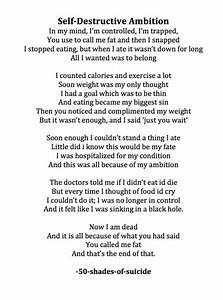 poems about cutting depression