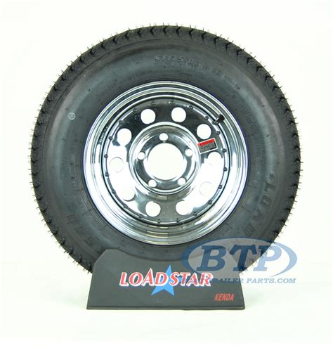 13 Inch Boat Trailer Wheels And Tires by Boat Trailer Tire St175 80d13 On Chrome Wheel 5 Lug By