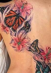 Frauen Rücken Tattoo : coole schmetterling tattoo ideen freshouse ~ Frokenaadalensverden.com Haus und Dekorationen