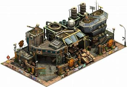 Buildings Era Contemporary Military Tank Factory Forge