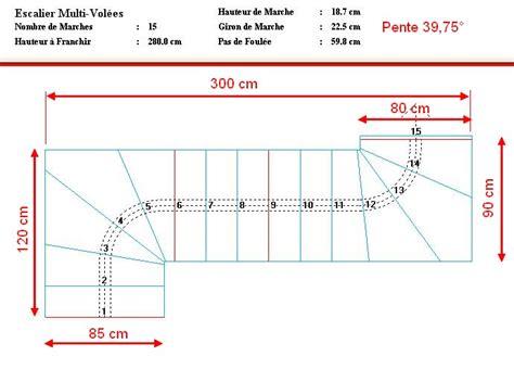 calcul escalier quart tournant haut r 233 alisation escalier limon central acier 1 4 tournant haut