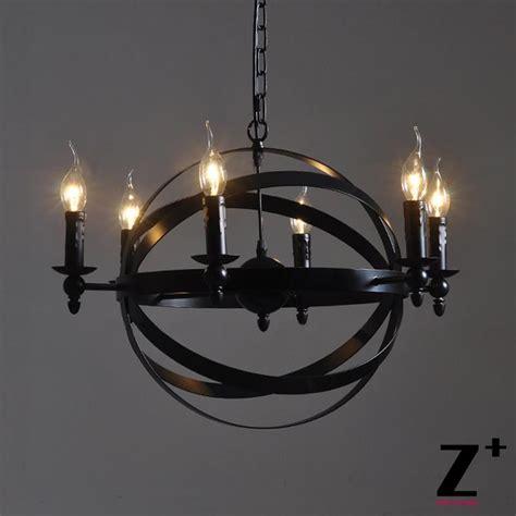 industrial vintage sphere atom nucleus chandelier