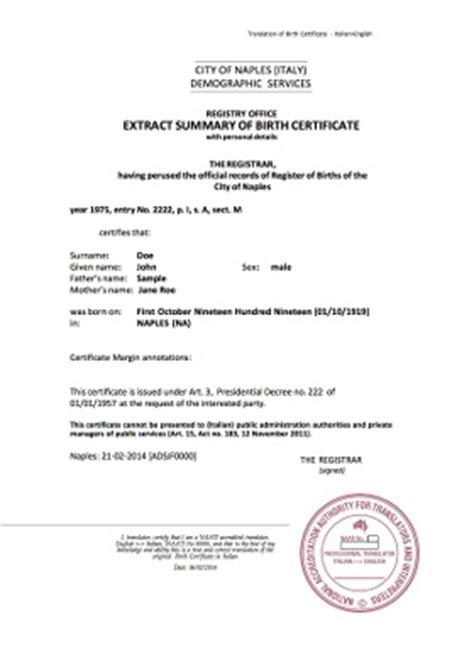 images  death certificate translation template
