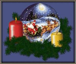 Christmas Candles: Animated Images, Gifs, Pictures ...