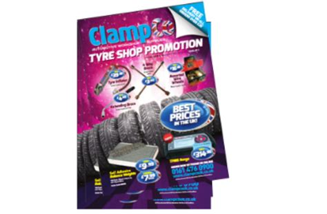 Clampco Tyre Shop Promotion Offers 'best Prices In Uk