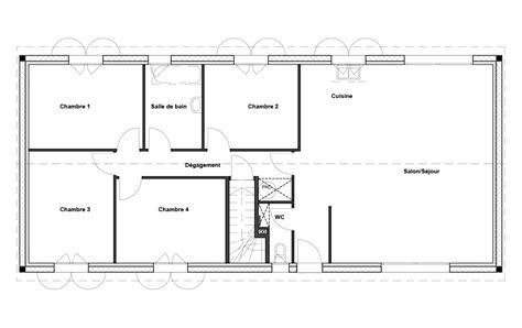 plan maison rdc 3 chambres plan maison rdc 3 chambres gallery of agrandir le plan