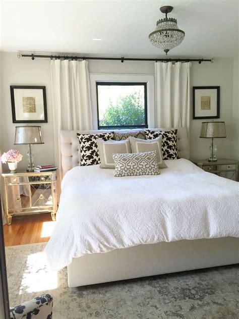 neutral bedroom window bed bedroom window