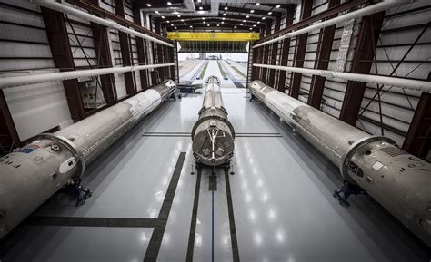 spacexs planned refurbishment facility briefly catches