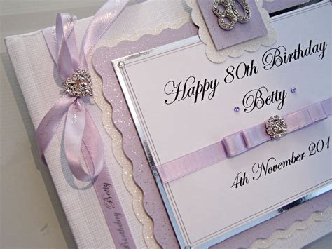 personalised  birthday guest book