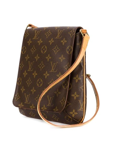 louis vuitton musette salsa shoulder bag  multicolor brown lyst