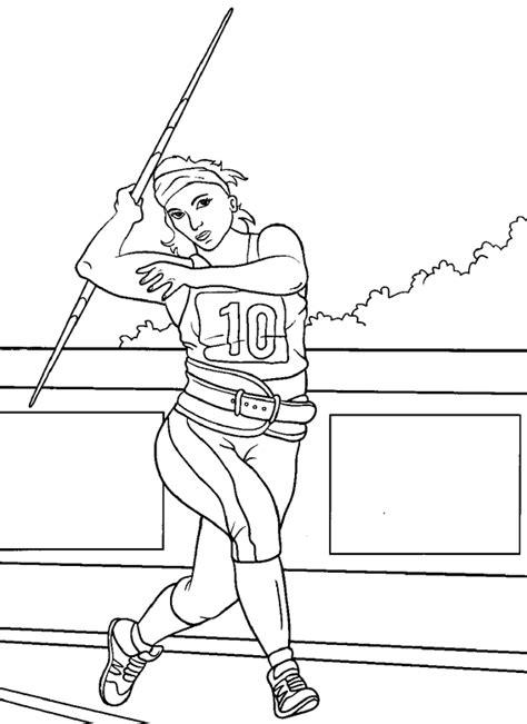 carte chambre des metiers coloriage sports athletisme à colorier allofamille