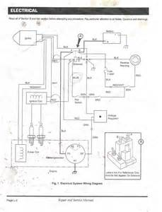 similiar 1999 ezgo gas wiring diagram keywords alfa showing > ezgo gas workhorse wiring diagram