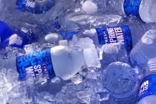 Simple Plastic Water Bottle