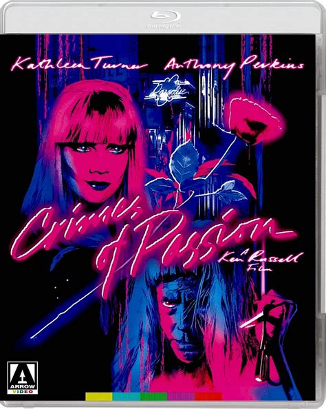 Other crime of passion (1957) posters and prints. CRIMES OF PASSION BLU-RAY ARROW US in 2019 | Kathleen turner, Anthony perkins, Bruce davison