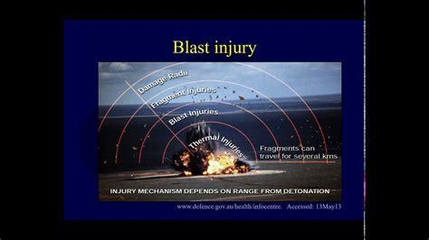 Orthopaedic blast injuries- Blast wave mechanics and primary blast injury (OTA lecture IV D01b ...