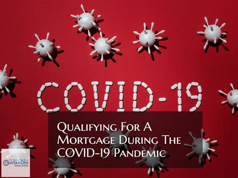 qualifying   mortgage   covid  pandemic