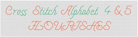 cross stitch alphabet patterns printable