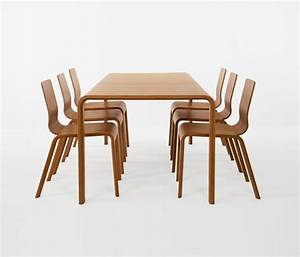 Bamboo dining table and chairs marceladickcom for Bamboo dining table and chairs