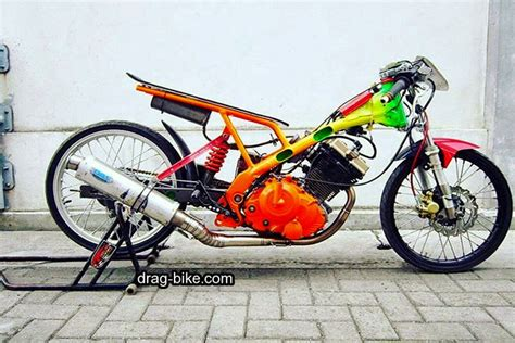 Drag Satria by 45 Foto Gambar Modifikasi Motor Satria Fu Drag Race Style