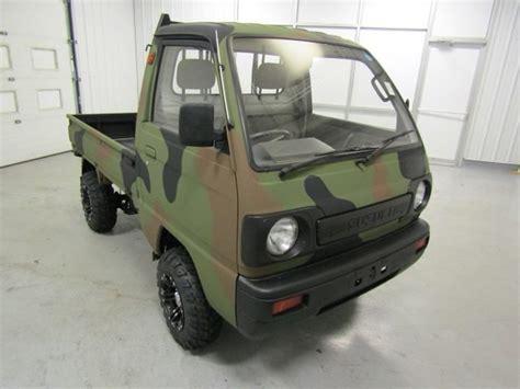 Suzuki Mini Truck Specs by You Need This 1990 Suzuki Carry 4wd Mini Truck