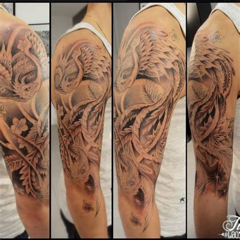 photo de tatouage phoenix tatouage asiatique phoenix par