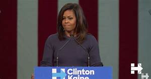 Watch Michelle Obama's entire speech on Trump and women