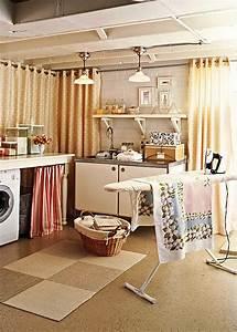 Unfinished Basement Laundry Room Ideas July 2020