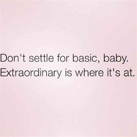 never ever settle quotes