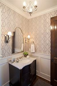 Uttermost Mirrors Bathroom Farmhouse With Chandelier