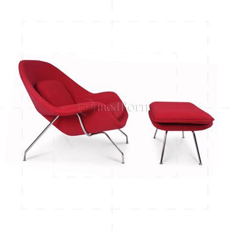 eero saarinen style womb chair wool