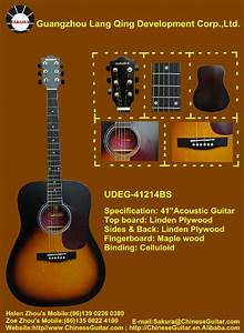Acoustic Guitar - UDEG-41214BS - SAKURA (China Trading ...