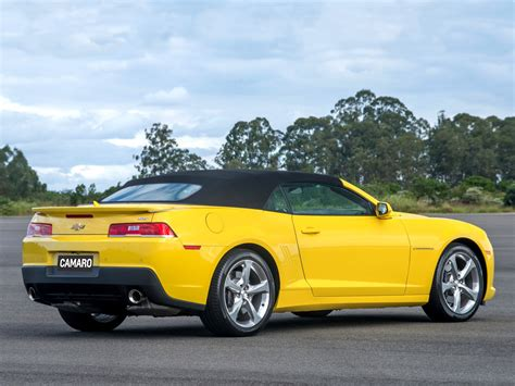 Chevrolet-camaro-ss-convertible-2014 Wallpaper