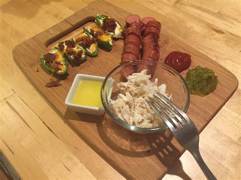 bachelorette night  means keto junk food dinner