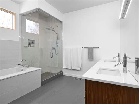 house modern bathroom edmonton  richlyn custom