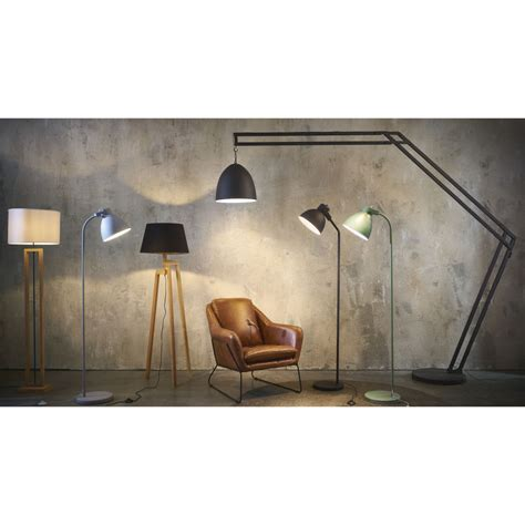 Groene Metalen Staande Lamp H164   Maisons du Monde