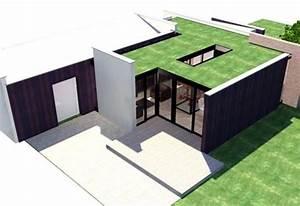 Extension Maison Préfabriquée : maison hqe saint maur des foss s une r alisation de guillot architectes ~ Melissatoandfro.com Idées de Décoration