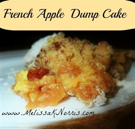 pioneering today french apple dump cake recipe melissa