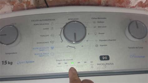 como utilizar la whirlpool xpert system intelicarga parte  youtube