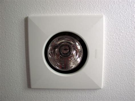Installing A Heat L In Bathroom How To Install A Bathroom Exhaust Fan