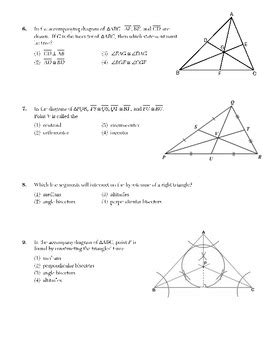 triangle concurrency centroid orthocenter incenter