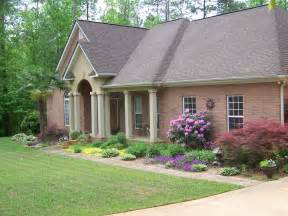 Red Brick Home Landscaping Ideas