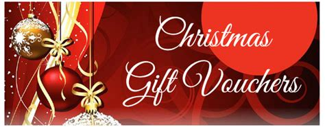 christmas gift voucher gift vouchers