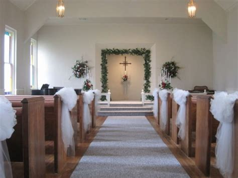 chapel decor weddingbee