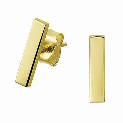 Mm Oorknopjes Staafjes Gouden Bij Juweliers Mostert