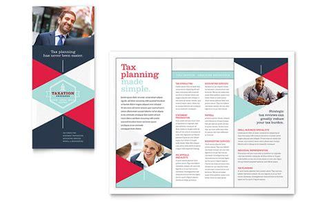 tax preparer brochure template word publisher