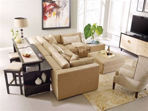 sofa table behind sectional the best modern sofa console tables