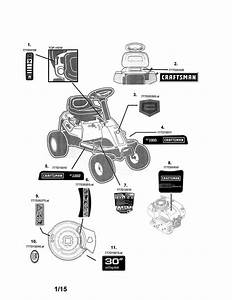 Craftsman Riding Mower Parts