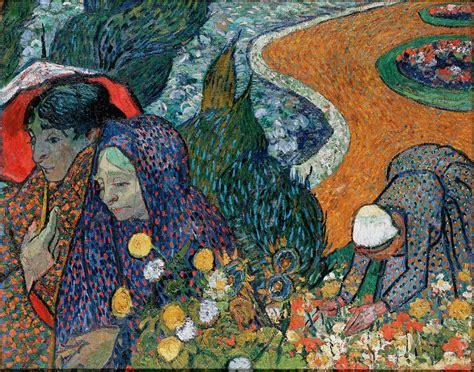 vincent gogh artwork memory of the garden at etten of arles