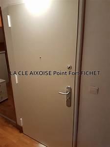 pose d39une porte blindee foxeo s avec reprise a l With porte de garage coulissante avec porte blindée fichet