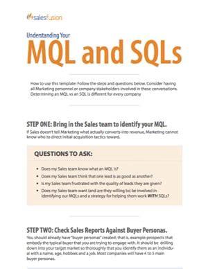 mql  sql salesfusion